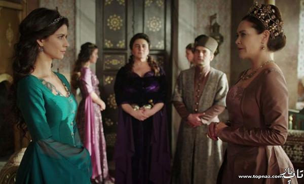 عکس های برن سات در نقش ماه پیکر در سریال ماه پیکر