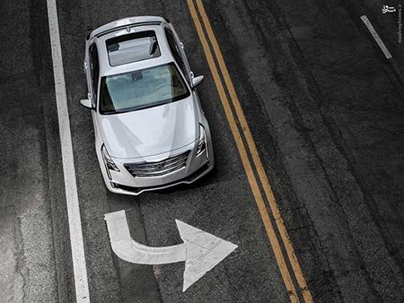 عکس های خودروی جدید کادیلاک 2016 Cadillac CT6