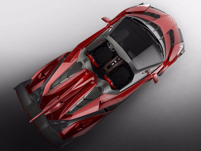 لامبورگینی وننو رودستر خودرویی گرانقیمت ولی بدون سقف! (۴.۵ میلیون دلار)