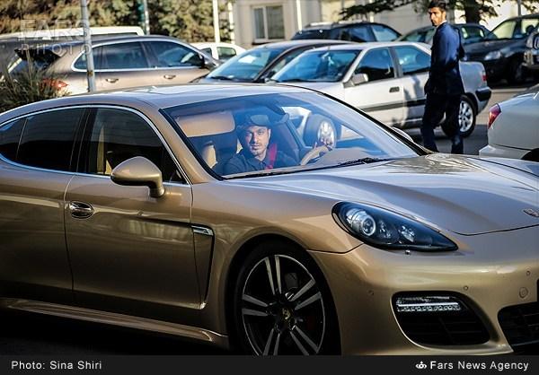 عکس خودروهای لوکس و گران قیمت بازیکنان پرسپولیس و استقلال