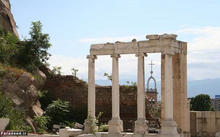 پلوودیو، دومین شهر بزرگ بلغارستان – قدمت آن به حدود 4000 سال پیش از میلاد بازمیگردد