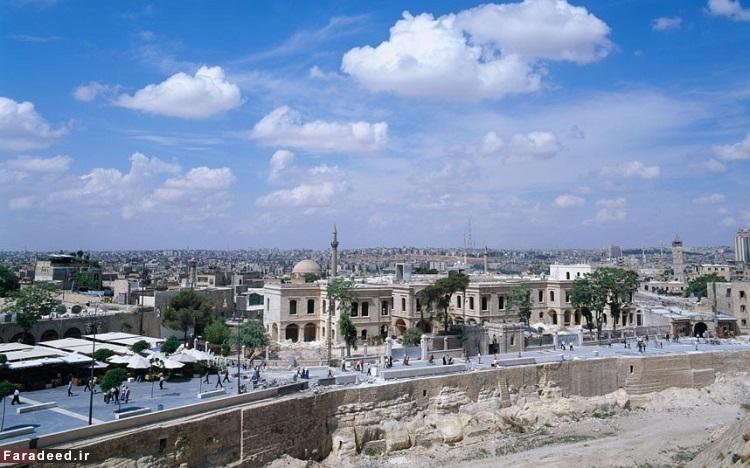 حلب، سوریه - قدمت آن به حدود 4300 سال پیش از میلاد بازمیگردد