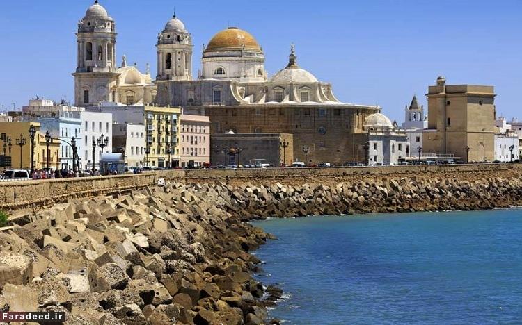 کادیس، اسپانیا – قدمت آن به حدود 1100 سال پیش از میلاد بازمیگردد