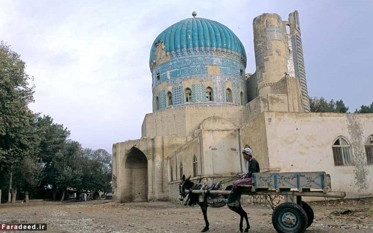 بلخ، افغانستان - قدمت آن به حدود 1500 سال پیش از میلاد بازمیگردد