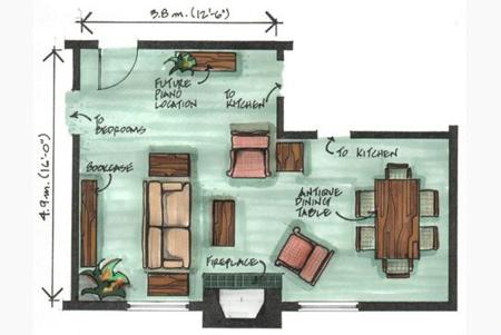 بهترین چیدمان ال شکل برای منزل