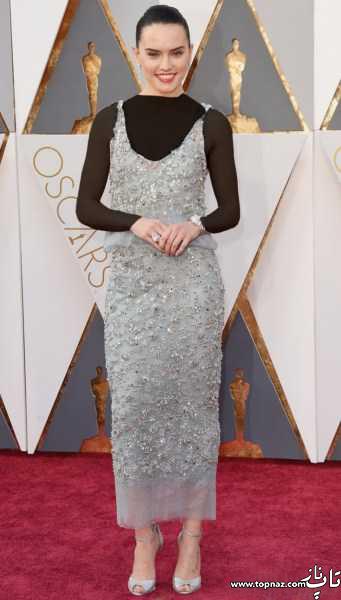 مدل لباس زنان هالیوودی و لباس های مجلسی بازیگران هالیوودی روی فرش قرمز اسکار 2016
