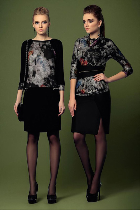 Dress 2016 17 مدل لباس مخصوص زنان و دختران جوان شیک روسی Noche Mio