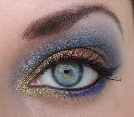 مدل آرایش چشم برای سال جدید