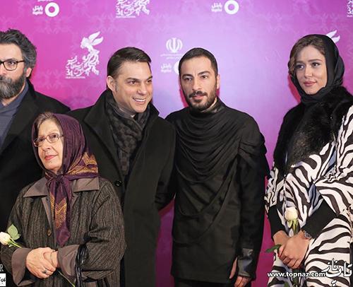 بازیگران در افتتاحیه جشنواره 34 فیلم فجر