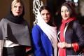 عکس بازیگران زن و مرد ایرانی در افتتاحیه جشنواره فیلم فجر