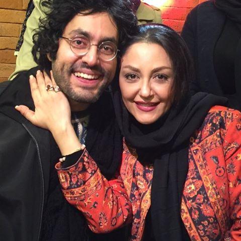 عکس خواهر و برادر گلشیفته فراهانی در کنار هم و شباهتشان به هم