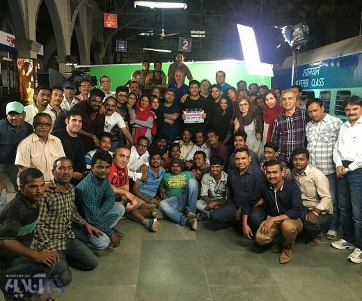 محمدرضا گلزار در فیلمبرداری «سلام بمبئی»