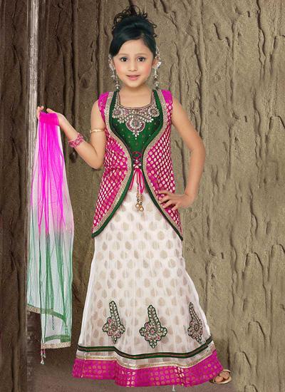 زیباترین مدل لباس هندی مجلسی بچه گانه