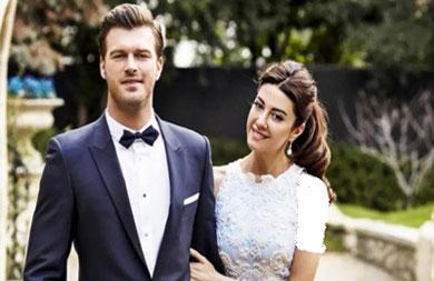 عکس کيوانچ تاتليتوگ و همسرش در جشن ازدواجشان