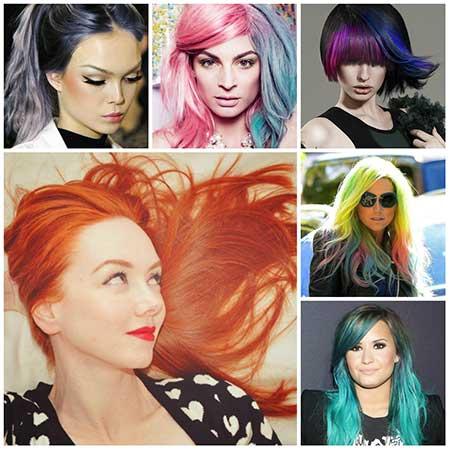 مدل رنگ مو باری سال جدید