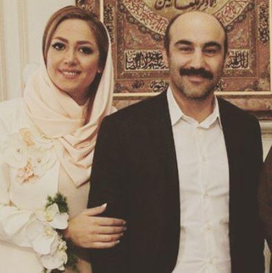 عکس داغ محسن تنابنده در کنار همسرش | محسن تنابنده ازدواج کرد