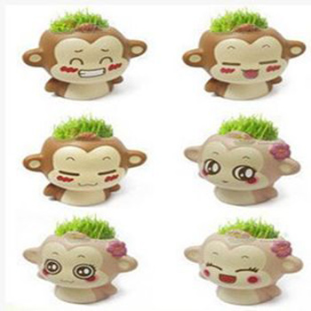 مدل سبزه عید به شکل میمون