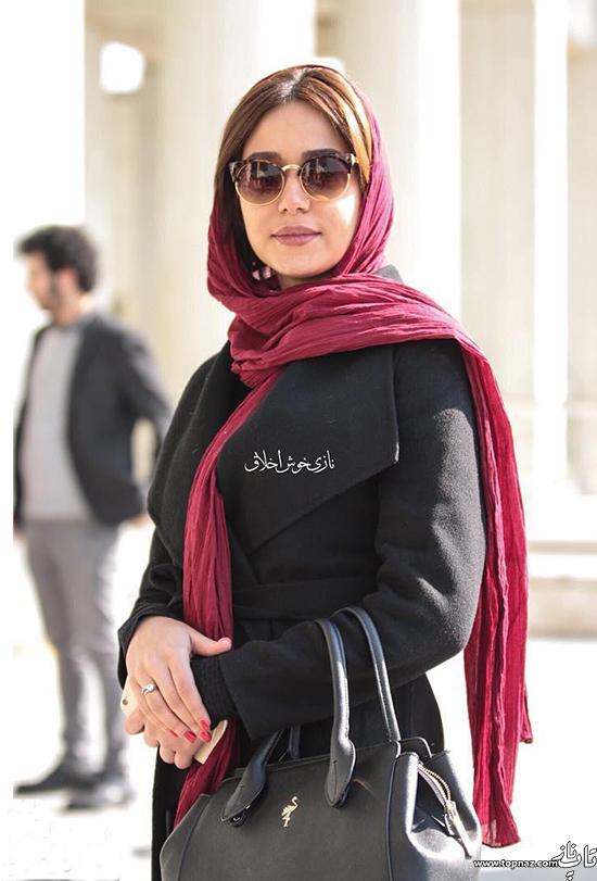 تصاویر جدید پریناز ایزدیار در حاشیه جشنواره فیلم فجر