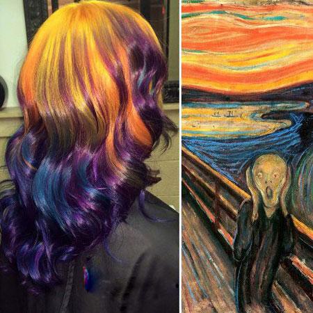 رنگ موی خاص زنانه