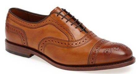 کفش مجلسی مردانه قهوه ای برند Allen Edmonds  Strand