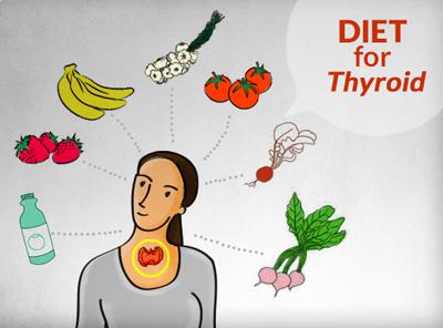بهترین رژیم غذایی برای افرادی که تیروئید دارند