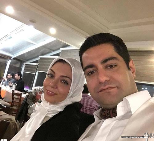 عکس آزاده نامداری و همسرش سجاد عبادی