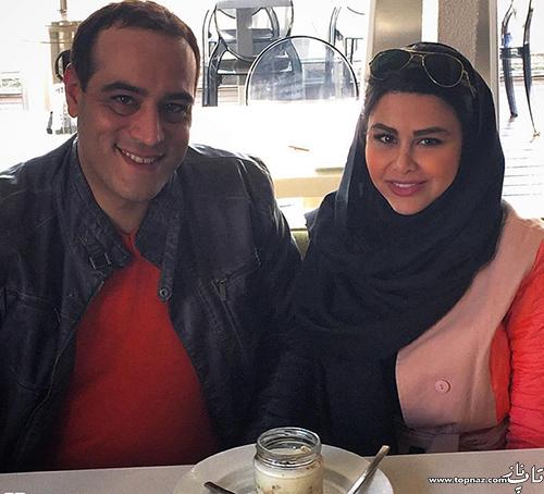 عکس یاسمینا باهر و همسرش امیریل ارجمند