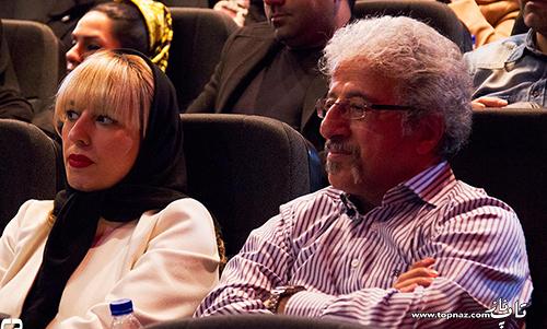 عکس علیرضا خمسه و همسرش