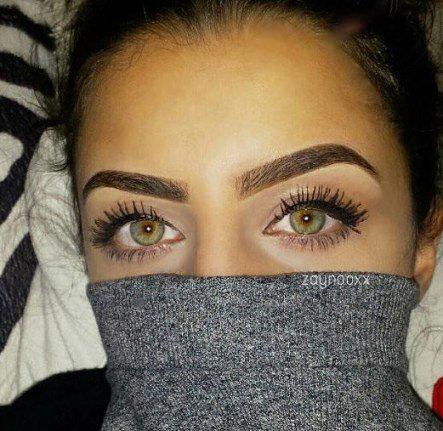 چشمان زیبای دختر عراقی
