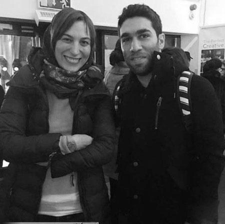 عکس فلامک جنیدی و هنرجوی برنامه استیج من و تو