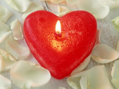 آموزش ساخت شمع به شکل قلب قرمز برای روز عشق ولنتاین