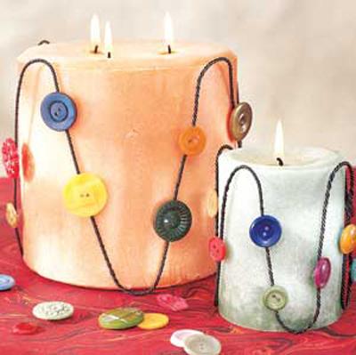 آموزش درست کردن شمع به شکل قلب, نحوه تزیین شمع به شکل قلب
