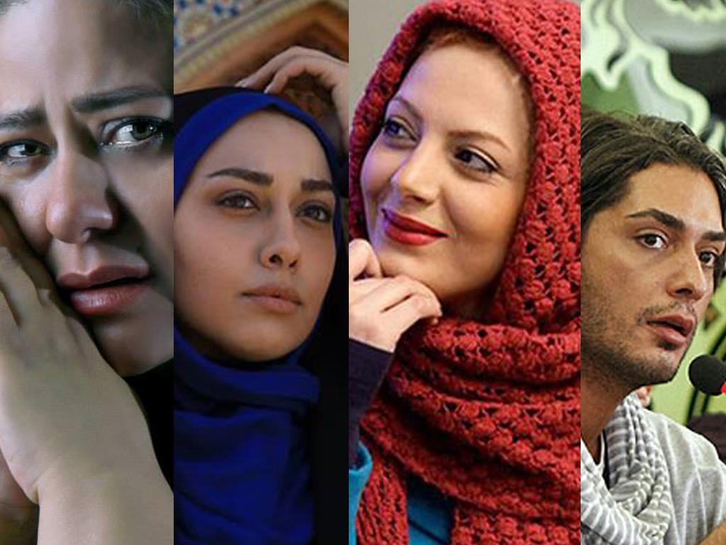عکس بازیگران زن ایرانی جم تی وی در یک دورهمی