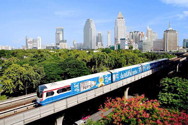 سیستم حمل و نقل در تایلند