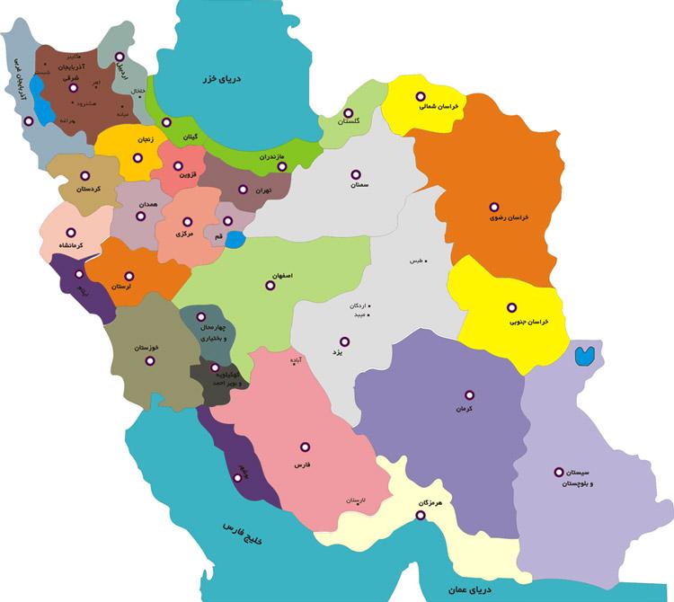 iran-provinces