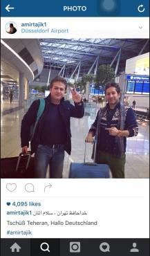 خواننده معروف ایرانی به آلمان مهاجرت کرد