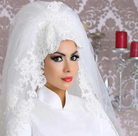 Crown and Tour models 2 مدل تور و همچنین مدل تاج عروس جهت عروس های محجبه
