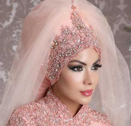 Crown and Tour models 5 مدل تور و همچنین مدل تاج عروس جهت عروس های محجبه