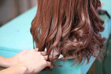 مدل موی فرفری موج دار
