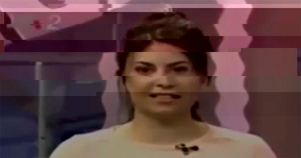 کلیپ مرگ ناگهانی مجری زن در برنامه زنده