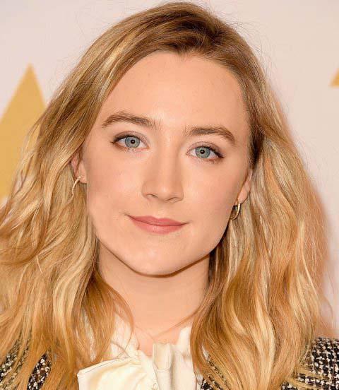 رنگ موی کنفی طلایی براق برای بهار 2016 به پیشنهاد سوراس رونان Saoirse Ronan