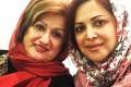 عکسی از کمند امیر سلیمانی و مادرش در روز مادر
