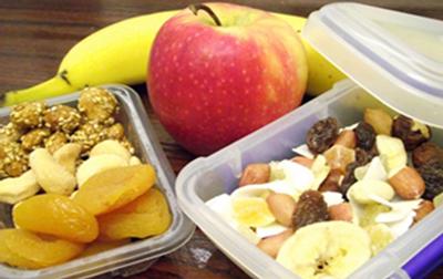 مصرف میان وعده هایی برای کاهش وزن