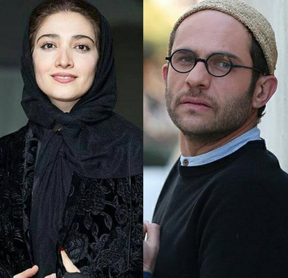 عکس های جالب بابک حمیدیان و مینا ساداتی در اکران فیلم لاک قرمز
