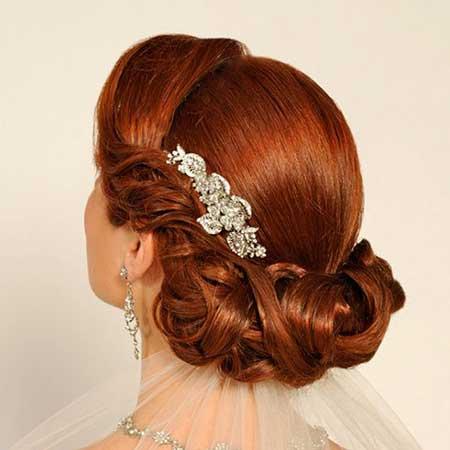 زیباترین مدل موی عروس به سبک اروپایی