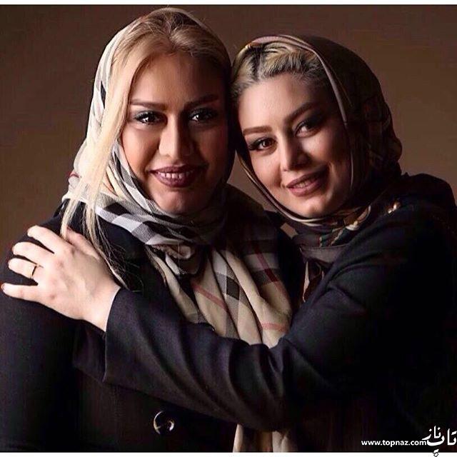 عکس سحر قریشی و مادرش و تبریک روز مادر سحر قریشی