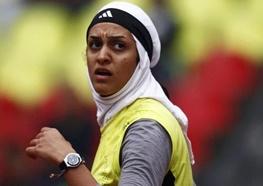 عکسی از دختر ایرانی قهرمان در چهارشنبه سوری