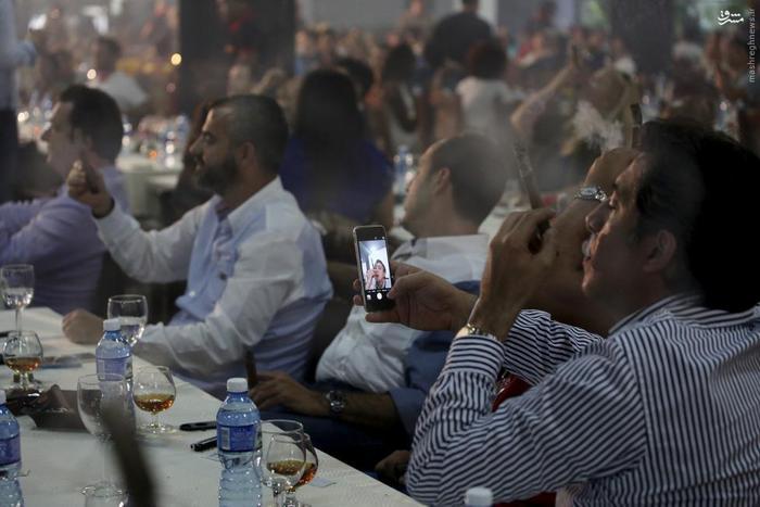 عکس های جالب جشنواره سیگاری ها
