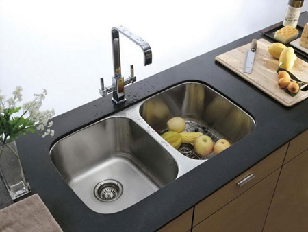 جدیدترین مدل های سینک آشپزخانه