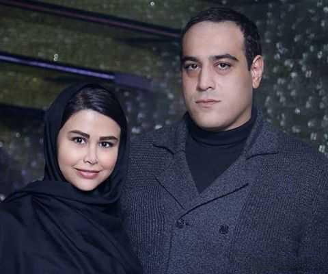 عکس یاسمینا باهر و شوهر امیریل ارجمند